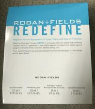 New, Sealed - 100% AUTHENTIC Rodan + Fields REDEFINE Full Size 4 Piece FREE SHIP
