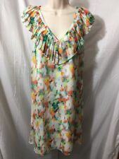 #366-- Catherine Melandrino lightweight dress, size 4, lined. euc.