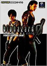 JAPAN Resident Evil Zero Biohazard 0 PERFECT CAPTURE GUIDE