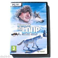 L'esprit du Loup de Nicolas Vanier, pour PC,NEUF. Game for PC, NEW.