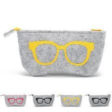 2017 New Zipper Eye Glasses Sunglasses Case Pouch Bag Box Storage Protector