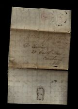 1835 St Vincent, Caribbean stampless - WRITES of SLAVE EMANCIPATION on Island !!