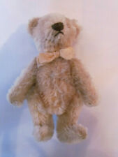 alter Teddybär, Teddy, beige, Kopf und Gliedmaßen beweglich, 15 cm