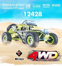 WLtoys 12428 1/12 4wd 2 4g 50 Km/h Crawler RC Auto Car De