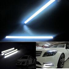 Fashion 12V Waterproof LED Lights Super Bright COB Car Lamp For DRL Fog Driving