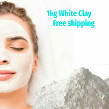 Pure Natural Cosmetic Grade WHITE Kaolin Clay powder mask 1kg 2,2 lb