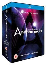 ANDROMEDA 1-5 (2000-2005): Gene Roddenberry - SciFi TV Series Season NEW BLU-RAY