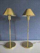 Zwei MIDCENTURY Tischlampen-Messing-Bankamp-TRUE VINTAGE