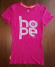 EUC Nike Womens Tshirt  Top HOPE Athletic Running Yoga Training Livestrong XS