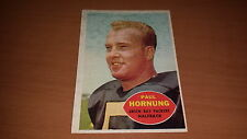 1960 Topps Football Card #54 Paul Hornung EX-EXMT *1528