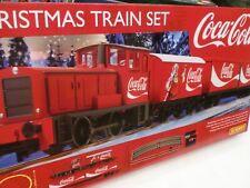 HORNBY - CHRISTMAS TRAIN SET COCA COLA - LIMA RIVAROSSI R 1233