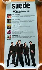 More details for suede very rare 2003 ica album shows small poster