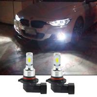 For BMW 5 Series E60 HB4 55w 6000k Bright White Front Fog Light Bulbs Pair