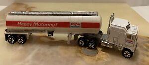 Road Champs Kenworth Aerodyne Exxon Die-cast Tanker Truck & Semi