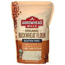 Arrowhead Mills Organic Buckwheat Flour 22 oz (623 grams) Pkg