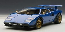 74652 AUTOart 1:18 Lamborghini Countach Lp500S Walter Wolf Edition Blue