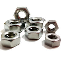 "UNF IMPERIAL #10-32"" A2 STAINLESS STEEL HEXAGONAL HEX FUL NUTS / NUT"