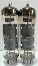 PAIR 1962 Siemens 6BQ5 / EL84 tubes - Gray Plate, Top O Getter