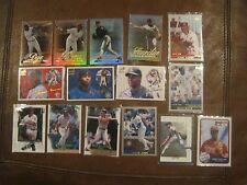 MLB - 15 CARD LOT - 1999, 2000 & 2001 - ALL STARS / HOF OF BASEBALL - SEE PHOTO
