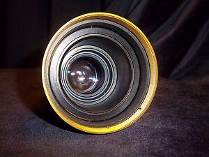 Schneider 35mm Cine Projection Lens  65mm f/2 Lens. Good Condition No Hood