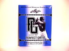 2013 Leaf Perfect Game Hot Pack Sealed Topper 2 Metal Baseball Insert FREE SHIP