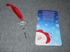 SANTA KEY - Santa's Magic Key for houses without a Chimney! - ornament or hang