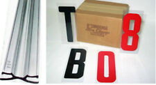 """Marquee 6"""" Condensed Letters & 10 Sign Track-Rail  Kit"""