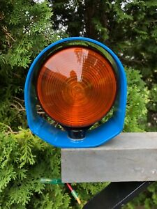 """Ford /New Holland Tractor Blue 4"""" Light Protectors"""