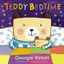 Teddy Bedtime by Georgie Birkett (Board book) New Book