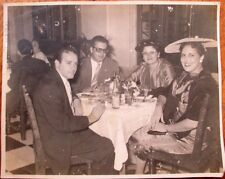 Cuba/Cuban 1950s Photograph: Two Couples in a Restaurant - 8x10