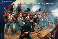 British Napoleonic Line Infantry - 28mm figures x40 Perry BH1 - free post