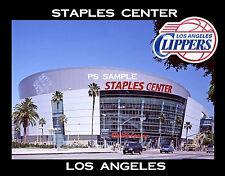 Los Angeles - STAPLES CENTER - LA Clippers - Travel Souvenir Fridge Magnet