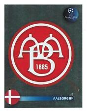 Panini 26 Logo Emblem Aalborg BK UEFA CL 2008/09