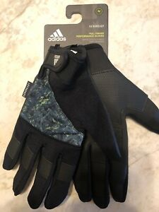 Adidas Aeroready Full-finger Workout Gloves Size M Brand New W/Tags