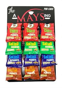 Big D 12 Packs Mixed Nuts Free Pub Card: Salted | Cashews | Dry Roasted | Chilli