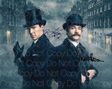 Sherlock signed Freeman Cumberbatch 8X10 photo picture poster autograph RP