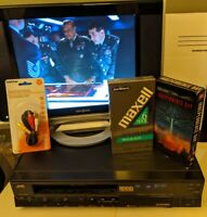 JVC HR-D237U VCR VHS Player/Recorder *No Remote*  Tested-QUALITY MADE IN JAPAN