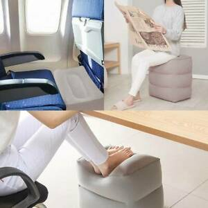 Travel Air Pillow Cushion Inflatable Foot Rest Footrest Relax Kids Bed