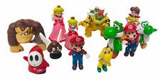 Nintendo Super Mario Game Series Mini Figures Bundle Bowser, Yoshi & Peach