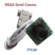 PTC08 RS232 Serial Camera Module RS232/TTL CMOS 1/4 inch DC +5V for Arduino R3