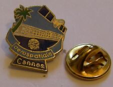 AEROSPATIALE CANNES AIRBUS aviation vintage pin badge