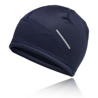 Asics Unisex Lite-Show 2 Beanie - Navy Blue Sports Running Windproof Breathable