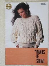 SIRDAR KNITTING - IMAGES OF SIRDAR ARAN FAIR ISLE CREPE MOHAIR ALPACA #544