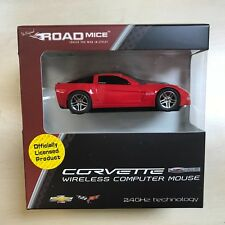 CORVETTE Wireless Car Mouse RED -  IDEAL GIFT - OFFICIAL LICENSED