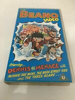 VHS The Beano Videostars PAL