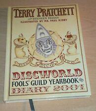 Terry Pratchett The Discworld Fools Guild Diary 2001 Hardback Paul Kidby