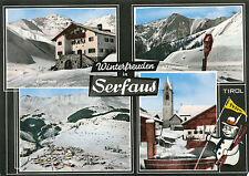 AK aus Serfaus in Tirol, Mehrbildkarte  (A6)