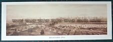 Antique Print Antique Map 1906 Panorama of Melbourne - Reproduction