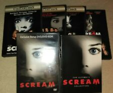 The Complete Scream Collection: Films 1 2 3 4 Box/DVD Set(s) Collection *HORROR