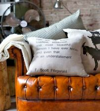 Thick  Linen cushion cover ''you are the loveliest... ''  :-)  NEW